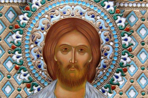 невский на иконе