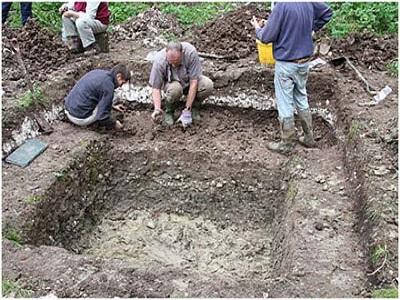 Работа исследователя древности