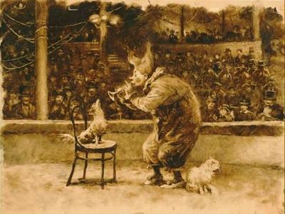 выступление каштанки в цирке