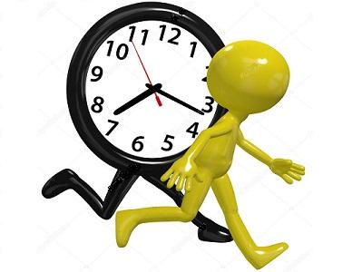 спешат часы