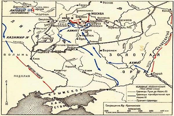 карта передвижений войск