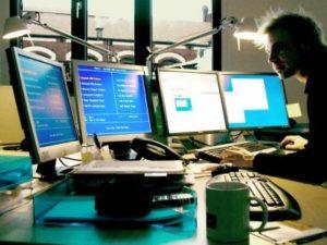 работа связанная с компьютерами