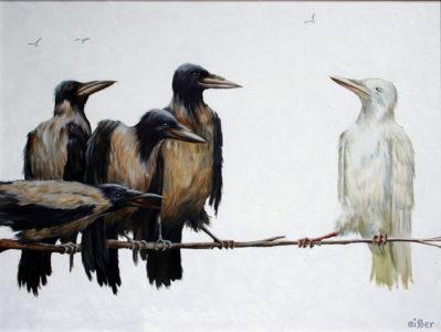 Белая ворона - значение фразеологизма