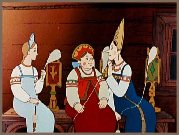 Краткое содержание сказки о царе Салтане