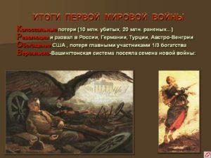 союзники россии в первой мировой войне