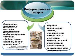 что относится к образовательным информационным ресурсам