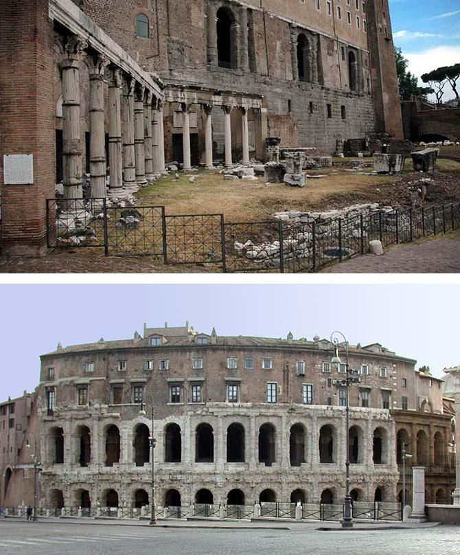Здания древнего Рима