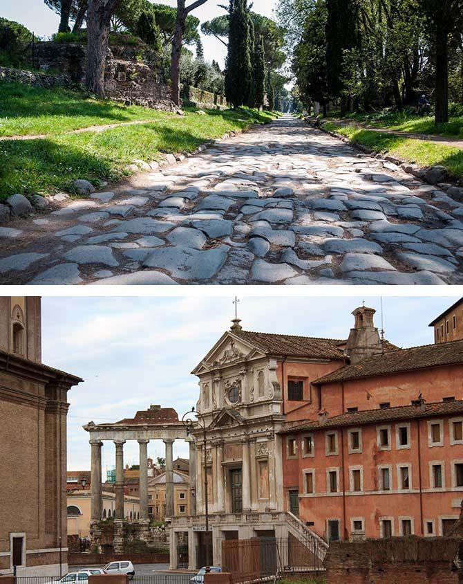 Памятники древнеримской архитектуры