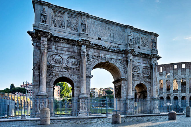 Триумфальная арка в Риме