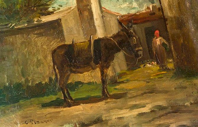 Дебютная работа Писсарро, 1957 год