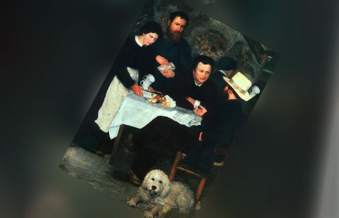 Картина «Трактир (харчевня) матушки Антони», 1866 г.