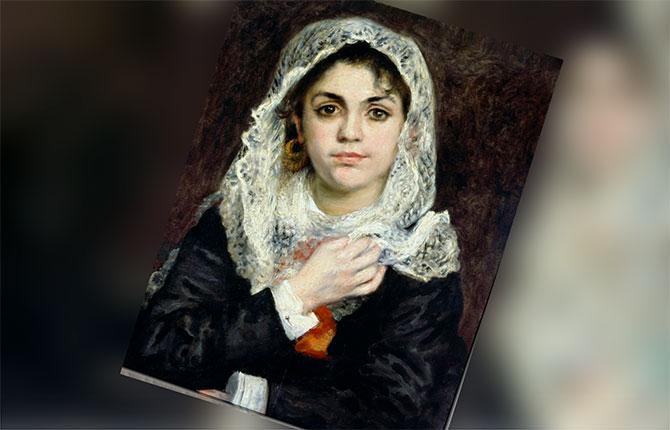 Портрет Лизы Трео