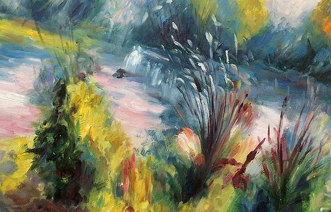 Знаменитый «Пейзаж на берегу Сены», купленный за $7