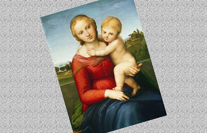 Картина Малая Мадонна Каупера