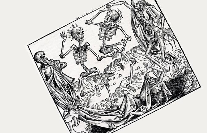 Гравюра Танец смерти