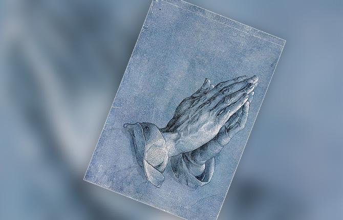 Дюрер Руки молящегося