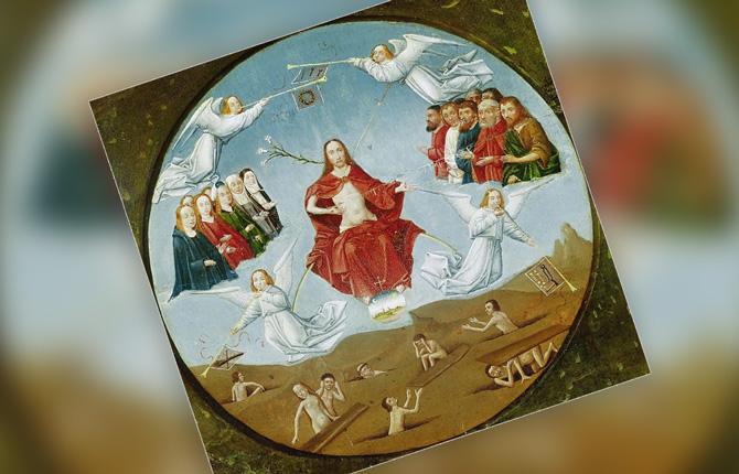 Фреска Иеронима Босха