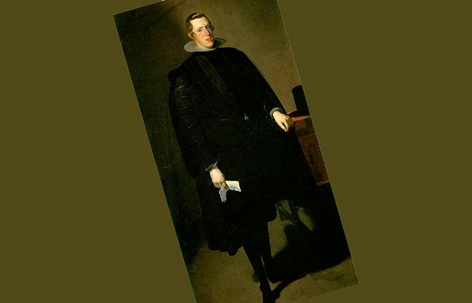 «Портрет Филиппа IV с прошением» (около 1623-1628 гг.).
