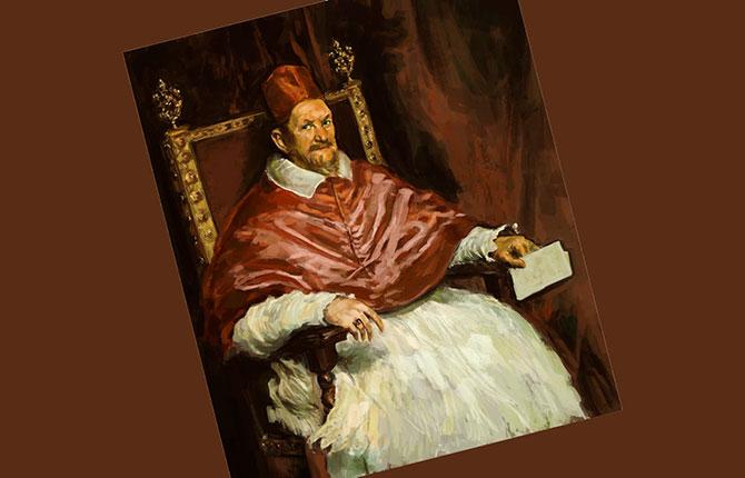 «Портрет папы Иннокентия Х» 1650 г.