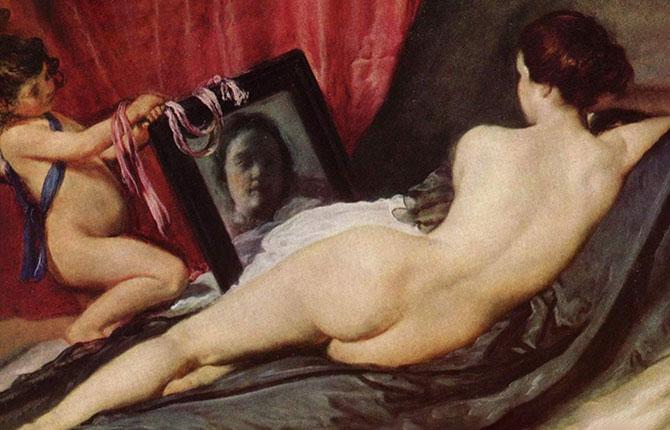 «Венера с зеркалом» около 1651 г.