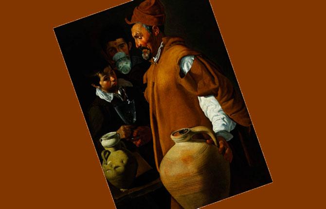 Веласкес «Продавец воды из Севильи» 1619-1622 гг.