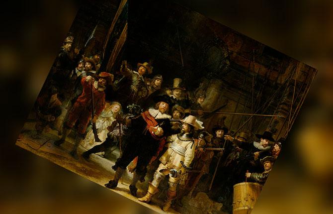 Рембрандт Ночной дозор