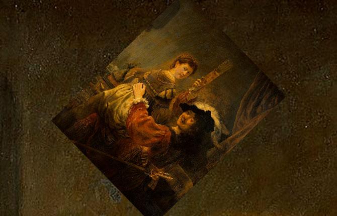 Блудный сын в таверне, 1635 г.