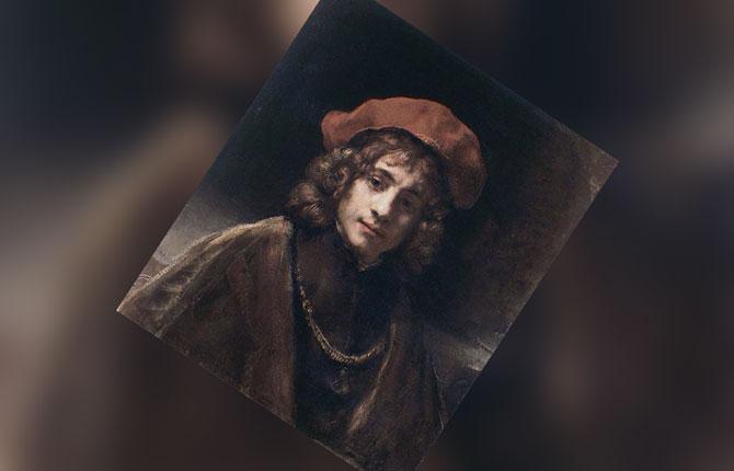 Портрет Титуса ван Рейна, 1657 г.