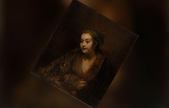 Портрет Хендрикье Стоффелс, 1660 г.