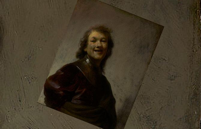 Смеющийся Рембрандт, 1628 г.