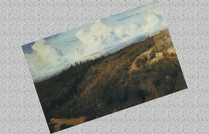 Пейзаж под Абрамцево