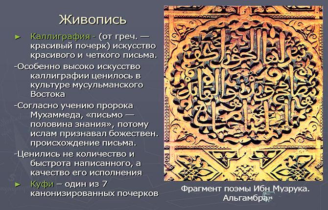 Каллиграфия Ислама